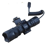 AR-15 Fieldsport Aluminum Tactical Flashlight 45* Mount/Pressure Switch 220 Lumen