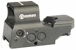 Omega Mfg Red Dot Solar Powered Sight with 8 Reticles