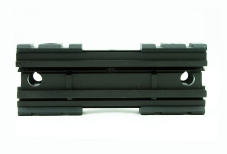 Gt ncstar 3 side picatinny rail see through scope mount base ar 15