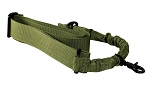 One Point Bungee Rifle Sling/Green