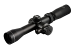 2-7X32 Dual Illuminated Pistol Scout Scope W/Red Laser