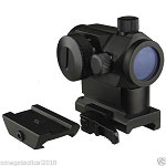 Micro Red Dot Sight With QD Riser Mount, & Low Profile Base