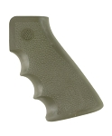 Hogue AR-15/M-16 Rubber Grip with Finger Grooves OD Green