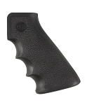 Hogue AR-15/M-16 Rubber Grip with Finger Grooves Black