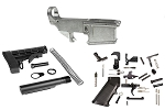 Noreen Firearms 80% AR-15 Forged Lower Receiver W/ LPK & Stock Kit