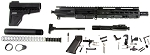 Davidson Defense AR15 Complete Pistol Kit, Everything But the Lower Receiver!
