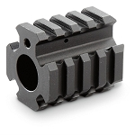 Quad Rail Barrel Mount/Gas Block