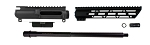 Aero Precision AR-15 DIY AR9 Rifle Upper Kit 16 Inch 9mm Barrel 1-10 T QPQ Nitride Finish 1/2x36