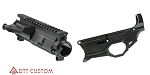 Polymer 80% Lower Receiver + Davidson Defense Stripped Upper Receiver Combo
