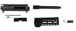 Aero Precision DIY AR-15 Pistol Upper Kit 7.5 Inch 9mm Barrel 1-10 T QPQ Nitride Finish 1/2x36 W/ 7