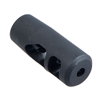 AR-15 .223 Muzzle Brake 2 Chamber Colt Competition - 1/2x28 Thread Pitch