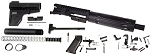 Davidson Defense AR15 5.56 .223 Assembled Pistol Kit, Everything But the Lower Receiver and BCG!