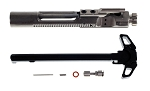Fail Zero Nickel Boron AR-15 M16 BCG Mega Upgrade Kit With Ambi Charging Handle & Stainless Steel Extended Mag Release
