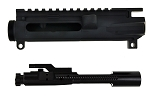 Davidson Defense AR-15 Lefty Upper Starter Kit Billet Receiver W/ Premium Nitride Bolt Carrier Group