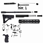 Davidson Defense DIY AR-15 Super Low Priced Complete Carbine Kit With BCG (Minus Upper & Lower Receivers)