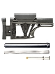LUTH-AR  Modular Buttstock & Buffer Tube Kit Assembly Combo BLACK  **Fits Ar-15 Rifles**