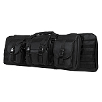 "Vism Double Carbine Rifle Case 36"" - Black  Fits Most AR-15 Rifles With 16"