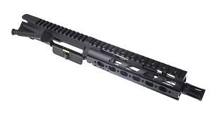 Davidson Defense Assembled Pistol Upper W 75 SS 556 Nato 17 Barrel Quad Rail Handguard