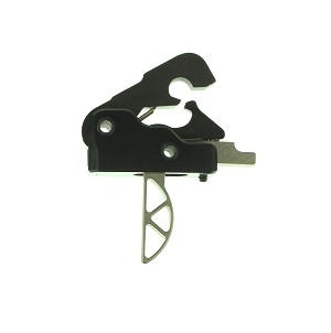 Ar-15/M4 2.5 lb Drop In Ultra Match Skeletonized Performance Trigger System - Black/Nickel Boron