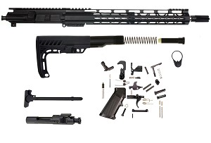 "Davidson Defense AR-15 Complete Rifle Kit ""Elite Operator Edition"" 16"" .223 WYLDE Ultra Match Stainless Hbar 1:7 Stainless Barrel *Everything Included Except Lower*"