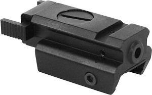 Omega Manufacturing RED Laser Pistol Sight Super Slim 5mW (Fits All Full Sized Pistol Rails)