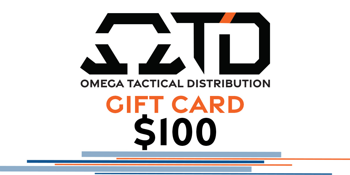Omega Tactical Distribution Gift Card $100