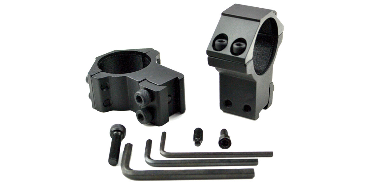 Sniper AG-30H4 30mm High Profile Scope Ring for Dovetail System