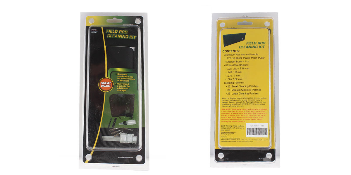 Remington Field Rod Cleaning Kit