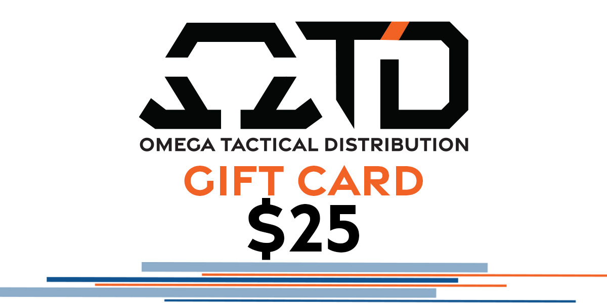 Omega Tactical Distribution Gift Card $25