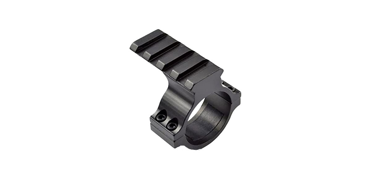 United Defense 30mm Scope Mount Ring with Picatinny Rail