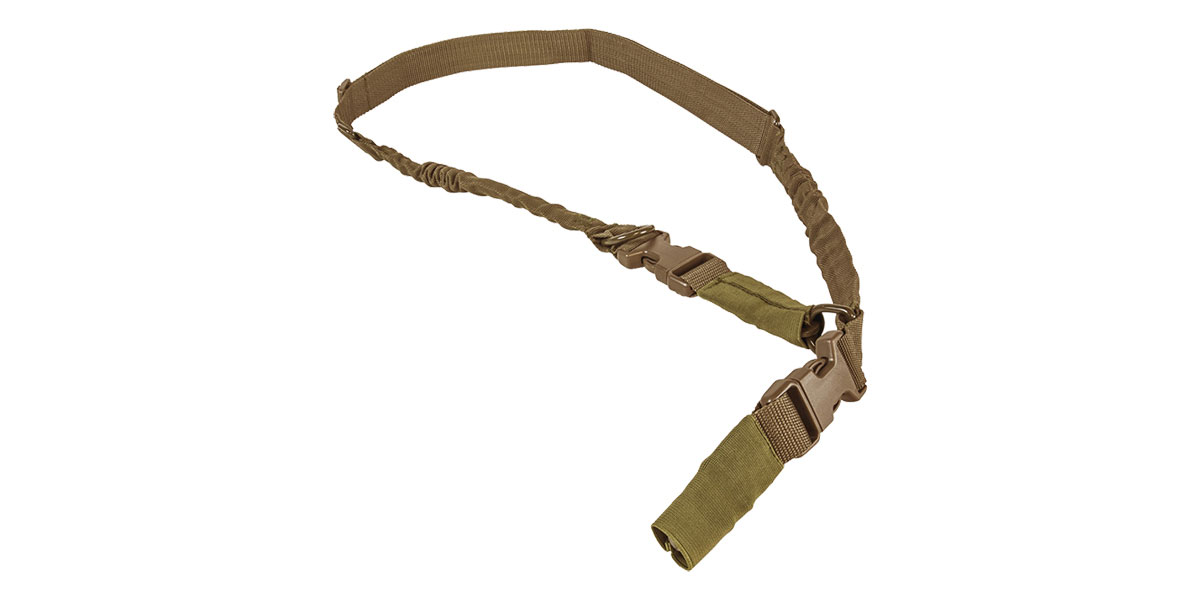 VISM 2 Point or 1 Point Sling w/Metal Spring Clips - Tan