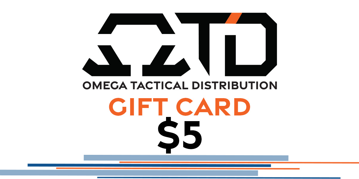Omega Tactical Distribution Gift Card $5