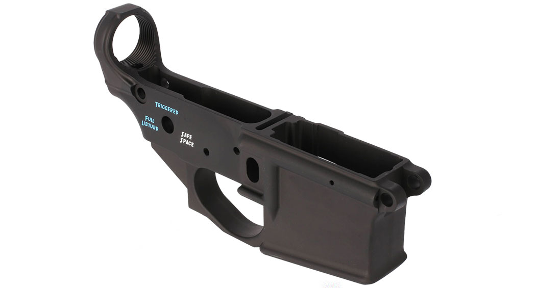 Spike's Tactical Stripped Lower Receiver - w/ Color Filled Snowflake Logo