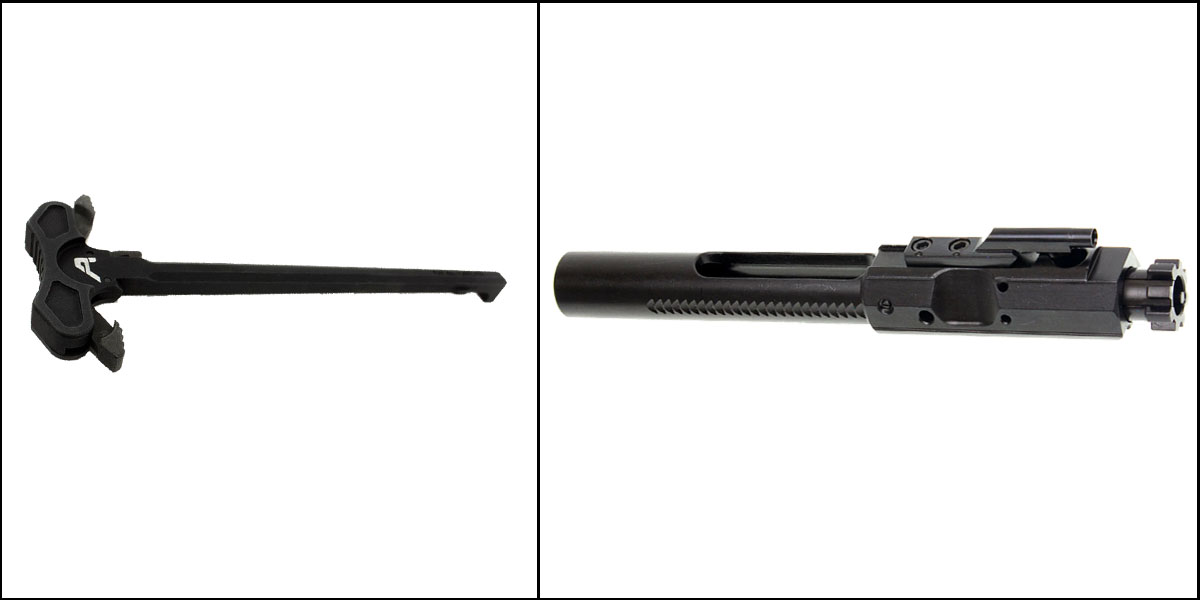 Omega Deals Aero Precision Ambidextrous .308 Charging Handle + Recoil Technologies .308/7.62 BCG FWD Assist Notches