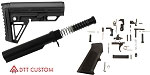 Trinity Force Alpha Stock AR-15 Finish Your Lower Rifle Kit
