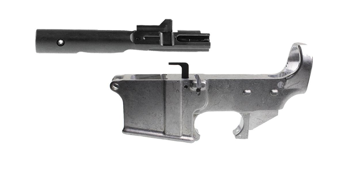 Delta Deals AR-15 9mm 80% Lower + 9mm BCG
