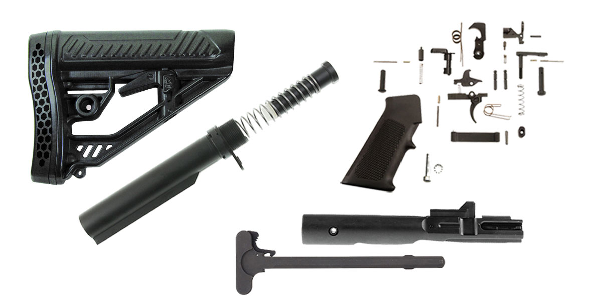 Adaptive Tactical Stock Ar 15 Finish Your Rifle Kit 9mm Co