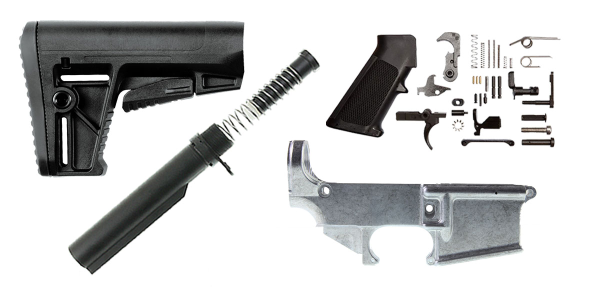 Omega Deals Kriss Arms AR-15 Finish Your 80% Lower Kit