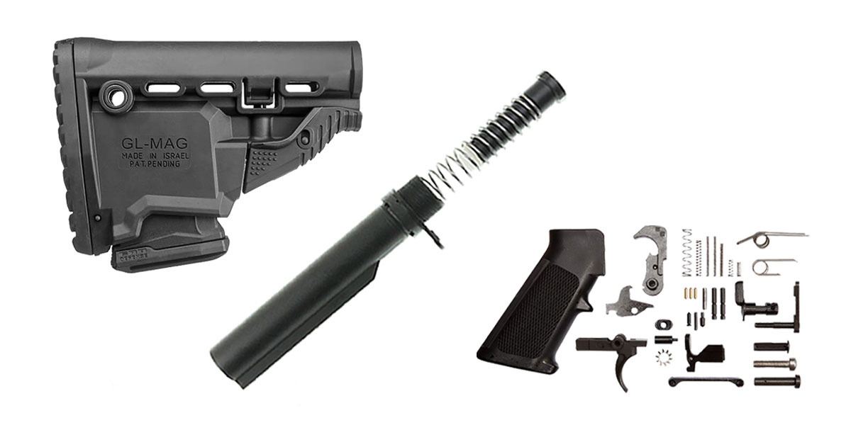 Omega Deals FAB Defense Survival AR-15 Finish Your Lower Rifle Kit