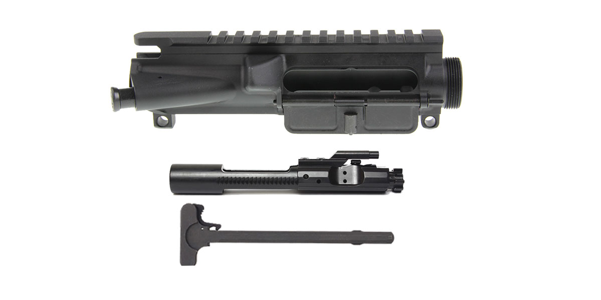 Davidson Defense Complete Upper Receiver With Bolt Carrier & Charging Handle Combo