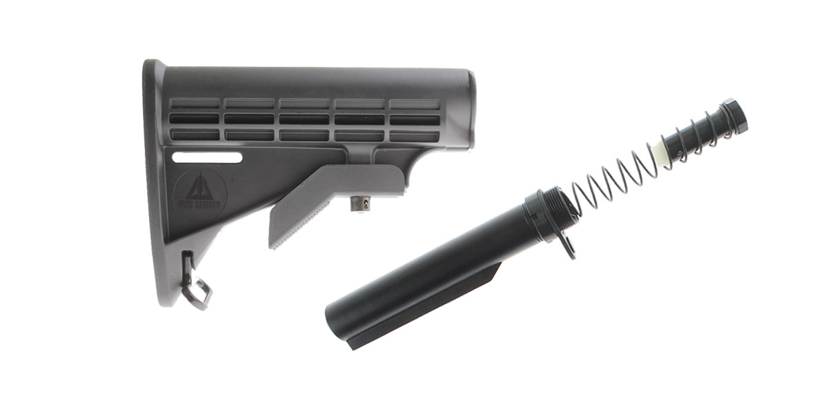Omega Deals MMC Armory LE Stock + LR-308 Omega Mfg. Buffer Tube Kit