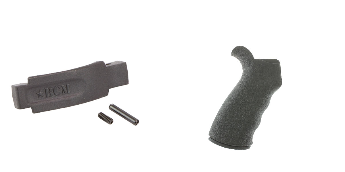 Omega Deals Enhanced Trigger Guard + Pistol Grip: Featuring BCM and Omega Mfg.