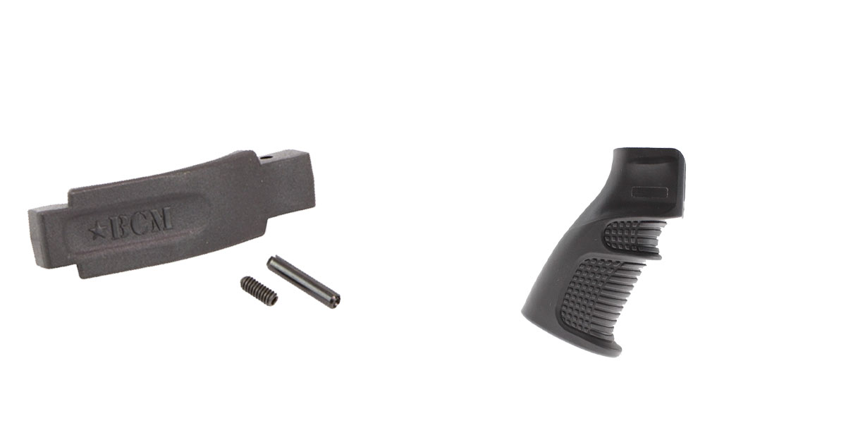 Omega Deals Enhanced Trigger Guard + Pistol Grip: Featuring BCM and United Defense