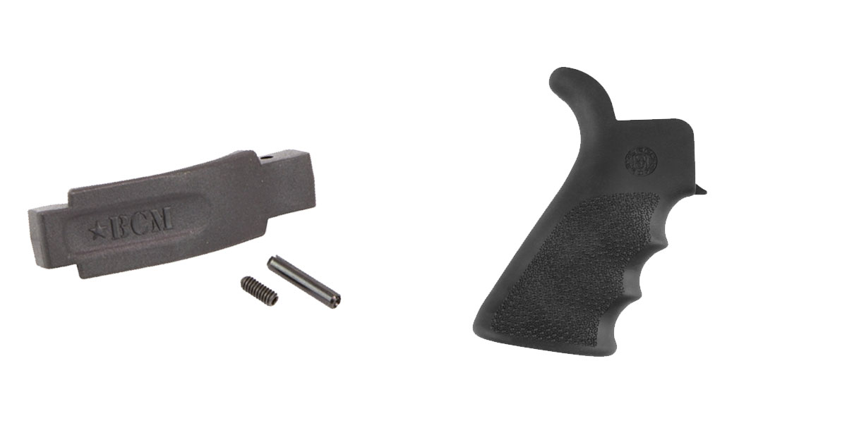 Omega Deals Enhanced Trigger Guard + Pistol Grip: Featuring BCM and Hogue