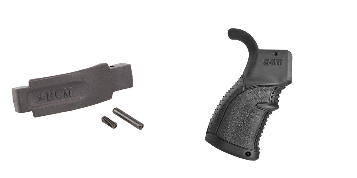 Omega Deals Enhanced Trigger Guard + Pistol Grip: Featuring BCM and FAB Defense