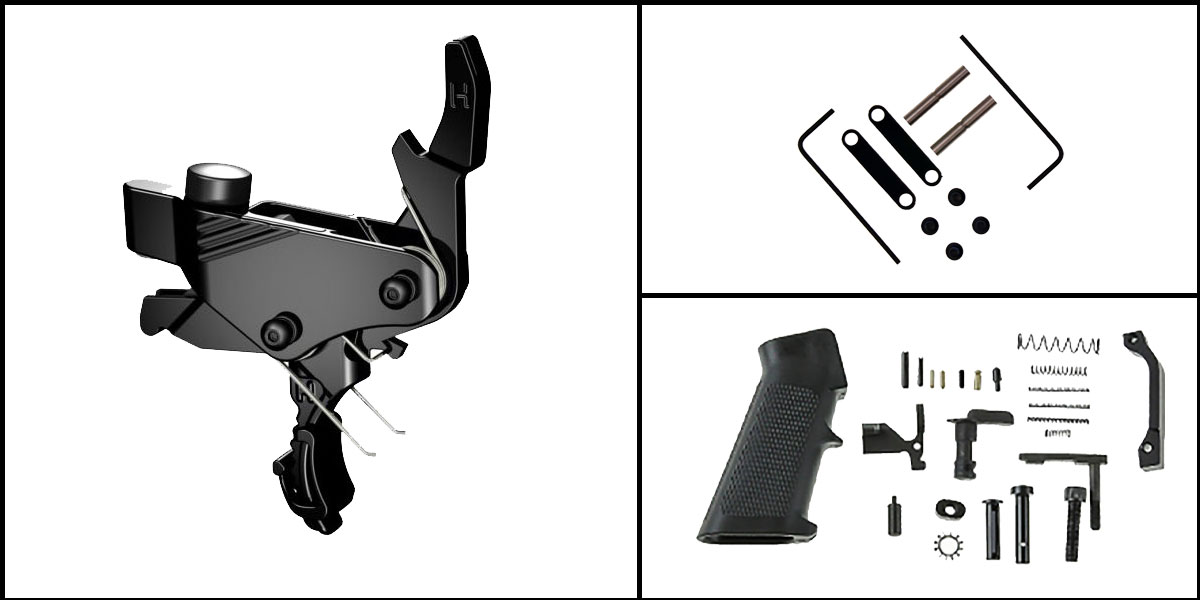 Omega Deals AR-15 Trigger Upgrade Kit Including Hiperfire