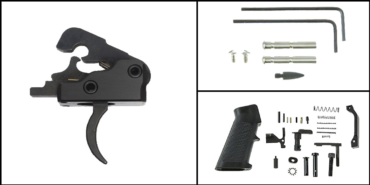 Omega Deals AR-15 Trigger Upgrade Kit Including Davidson Defense Uintah