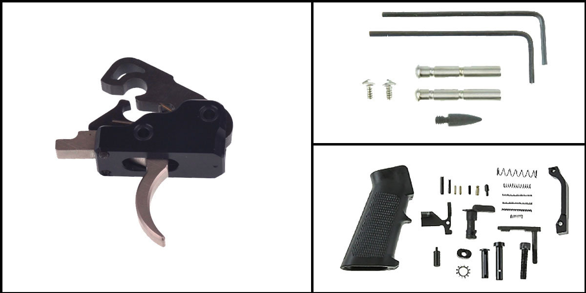 Omega Deals AR-15 Trigger Upgrade Kit Including Davidson Defense
