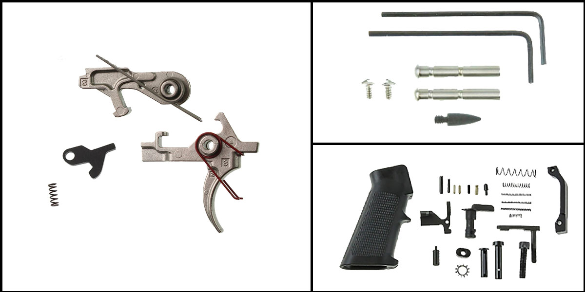 Omega Deals AR-15 Trigger Upgrade Kit Including Davidson Defense Elite Series Trigger +