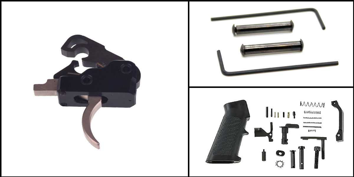 Omega Deals AR-15 Trigger Upgrade Kit Including Davidson Defense Phantom